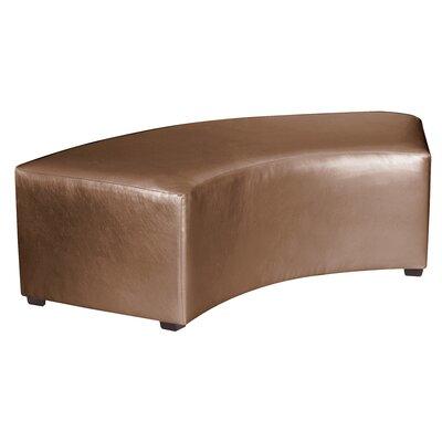Serrano Bench Upholstery: Bronze