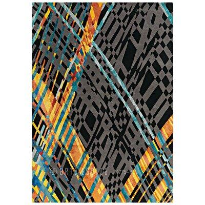 Arte Espina Premium Diamond Black Rug