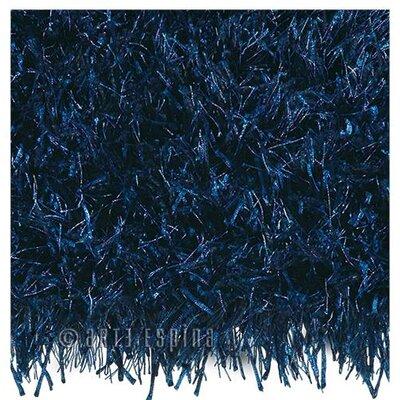 Arte Espina Lounge Beat Shaggy Dark Blue Rug