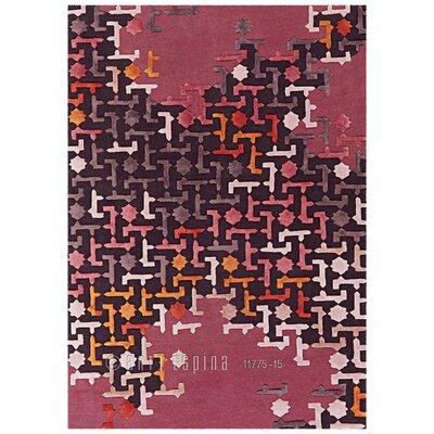 Arte Espina Premium Diamond Red Rug