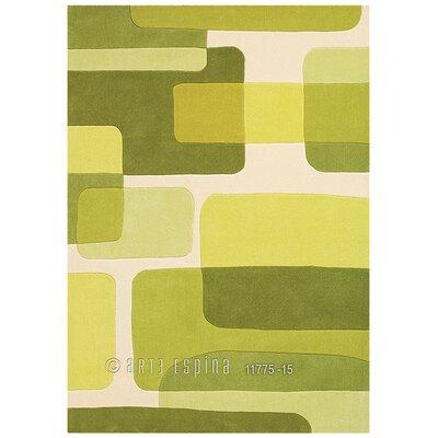 Arte Espina Retro Line Spirit Green Rug