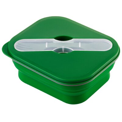 Wacky Practicals 18cm Collapsible Lunch Box with Cutlery