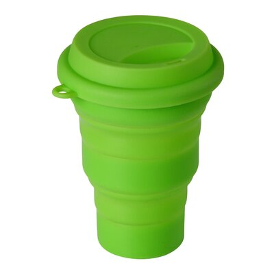 Wacky Practicals 14cm Silicone Collapsible Mug