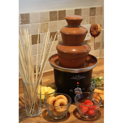 Gourmet Gadgetry Chocolate Fountain