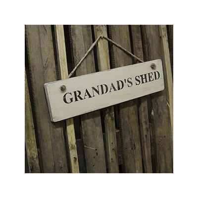 Duckydora Grandad's Shed Garden Sign