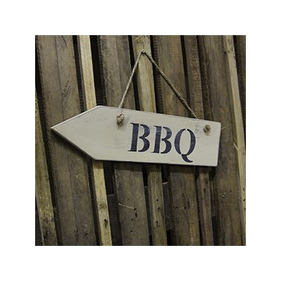 Duckydora BBQ Garden Sign