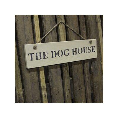 Duckydora The Dog House Garden Sign