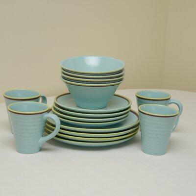 Duckydora Amalfi 16 Piece Dinnerware Set