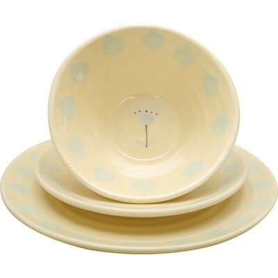 Duckydora Florence 3 Piece Place Setting