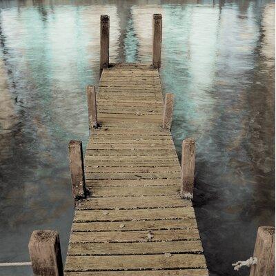 Alan Blaustein Annecy Pier Photographic Print