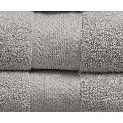 Fossett 6 Piece 100% Cotton Towel Set Color: Lunar Rock