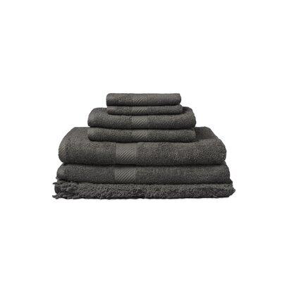 7 Piece 100% Cotton Towel Set Color: Gunmetal