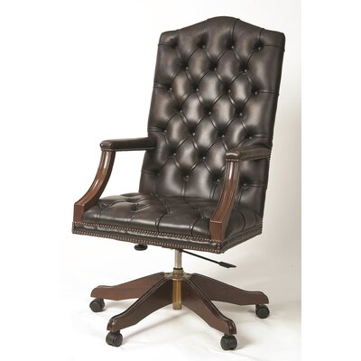Curzon Gallery Collection High-Back Leather Executive Chair