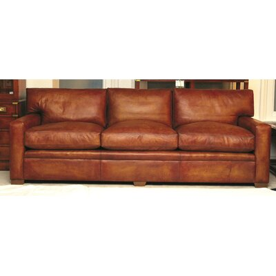Curzon Gallery Collection Armada Leather 4 Seater Sofa