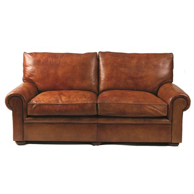 Curzon Gallery Collection Seville Leather 2 Seater Sofa