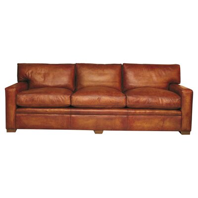 Curzon Gallery Collection Armada Leather 3 Seater Sofa