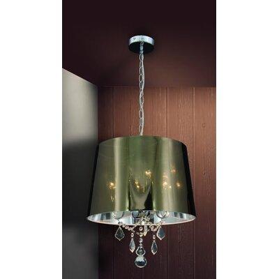 Home Lighting Trommel-Pendelleuchte 3-flammig Rocas