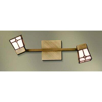 Home Lighting Volles Schienenbeleuchtungsset 2-flammig Vitro Spot