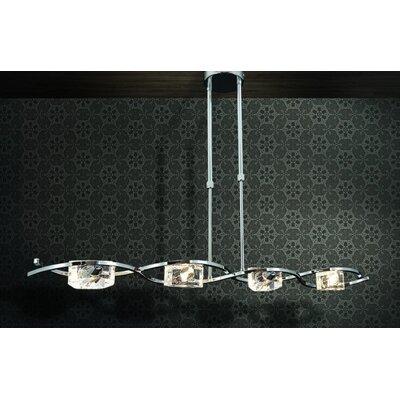 Home Lighting Balken-Pendelleuchte 4-flammig Brava