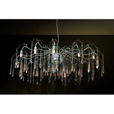 Home Lighting Kristall-Pendelleuchte 15-flammig Bunch