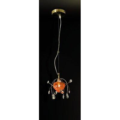 Home Lighting Mini-Pendelleuchte 1-flammig Caramel