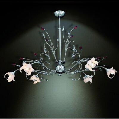 Home Lighting Kronleuchter 6-flammig Lily