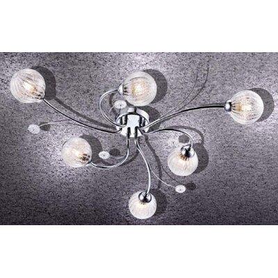 Home Lighting Deckenleuchte 6-flammig Mano