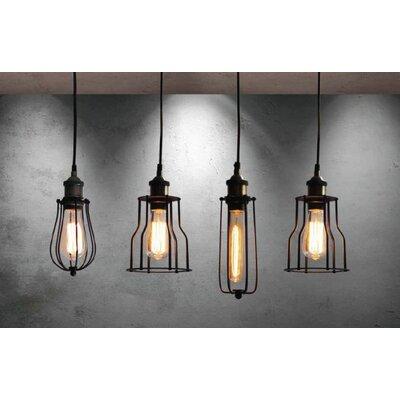 Home Lighting Balken-Pendelleuchte 4-flammig Magnum Syrma