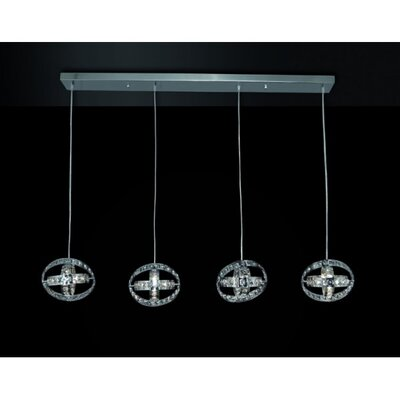 Home Lighting Design-Pendelleuchte 4-flammig Asterias