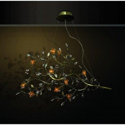 Home Lighting Design-Pendelleuchte 10-flamig Anthos