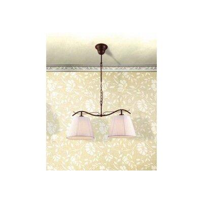 Home Lighting Schalen-Pendelleuchte 2-flammig Hana