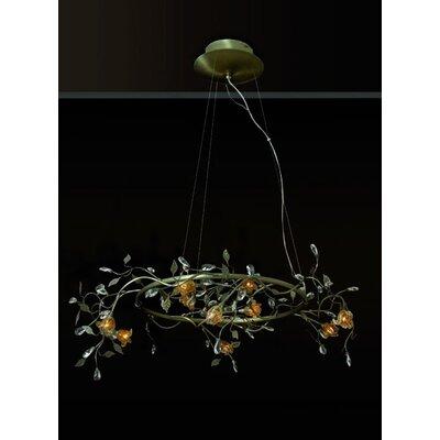 Home Lighting Design-Pendelleuchte 10-flammig Anthos