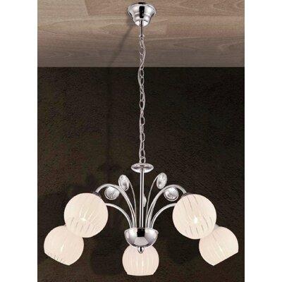 Home Lighting Kronleuchter 5-flammig Figo