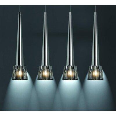 Home Lighting Schalen-Pendelleuchte 4-flammig Logo