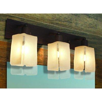 Home Lighting Spiegelleuchte 3-flammig Cube