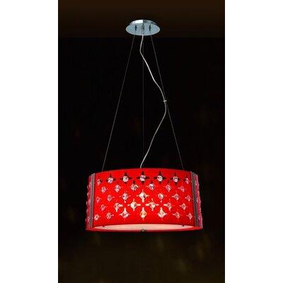 Home Lighting Design-Pendelleuchte 3-flammig Cabaret