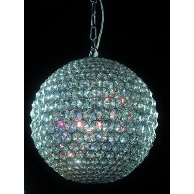 Home Lighting Kugel-Pendelleuchte 5-flammig Ball