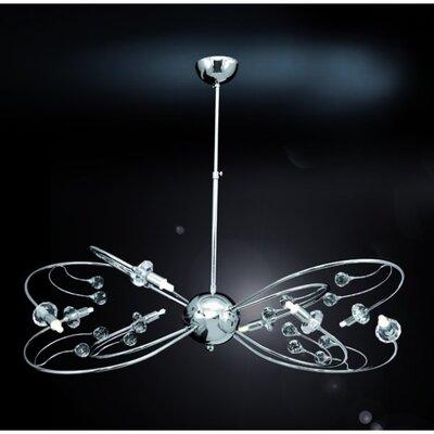 Home Lighting Design-Pendelleuchte 8-flammig Victoria