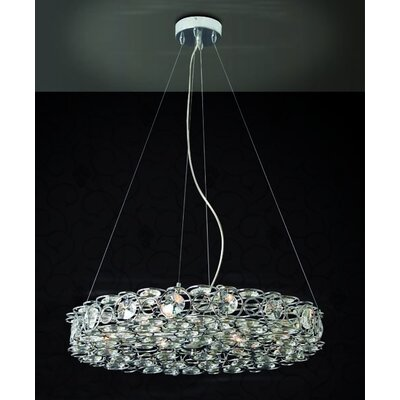 Home Lighting Kristall-Pendelleuchte 8-flammig Jewelry