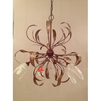 Home Lighting Kronleuchter 3-flammig Lotus