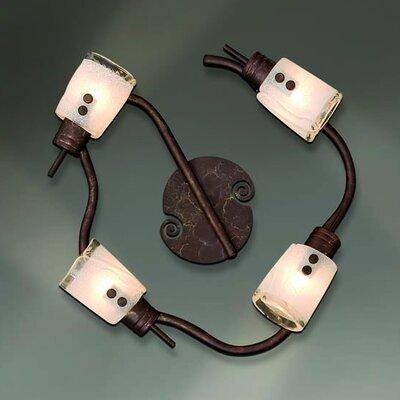 Home Lighting Volles Schienenbeleuchtungsset 4-flammig Antique Spot