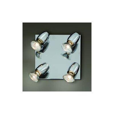Home Lighting Wandstrahler 4-flammig Simple Spot