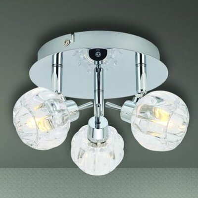 Home Lighting Deckenleuchte 3-flammig Bio