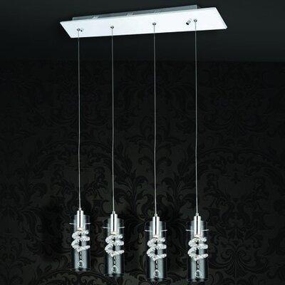 Home Lighting Balken-Pendelleuchte 4-flammig Rica