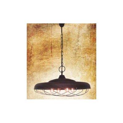 Home Lighting Schalen-Pendelleuchte 4-flammig Lionel