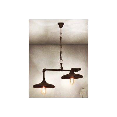 Home Lighting Design-Pendelleuchte 2-flamig Pipes