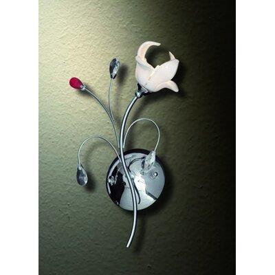 Home Lighting Wandfackel 1-flammig Lily