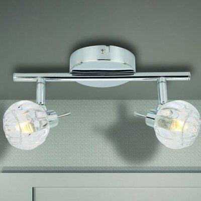 Home Lighting Volles Schienenbeleuchtungsset 2-flammig Bio