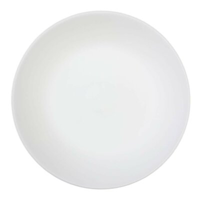 Corelle Winter Frost White 6 Piece Glass Luncheon Plate in White