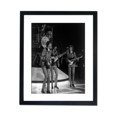 Culture Decor The Beetles 1965 Framed Photographic Print